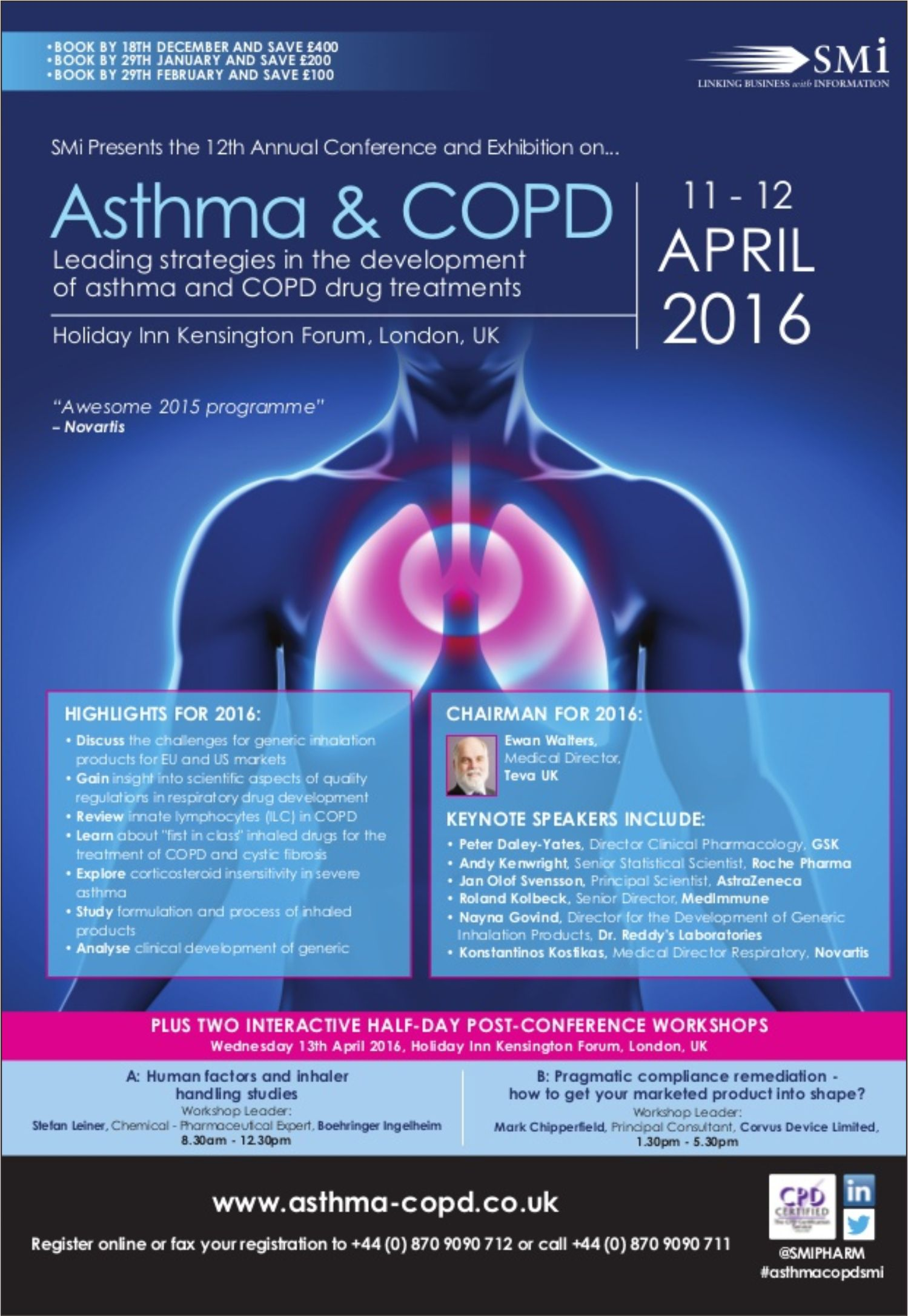Asthma & COPD 2016